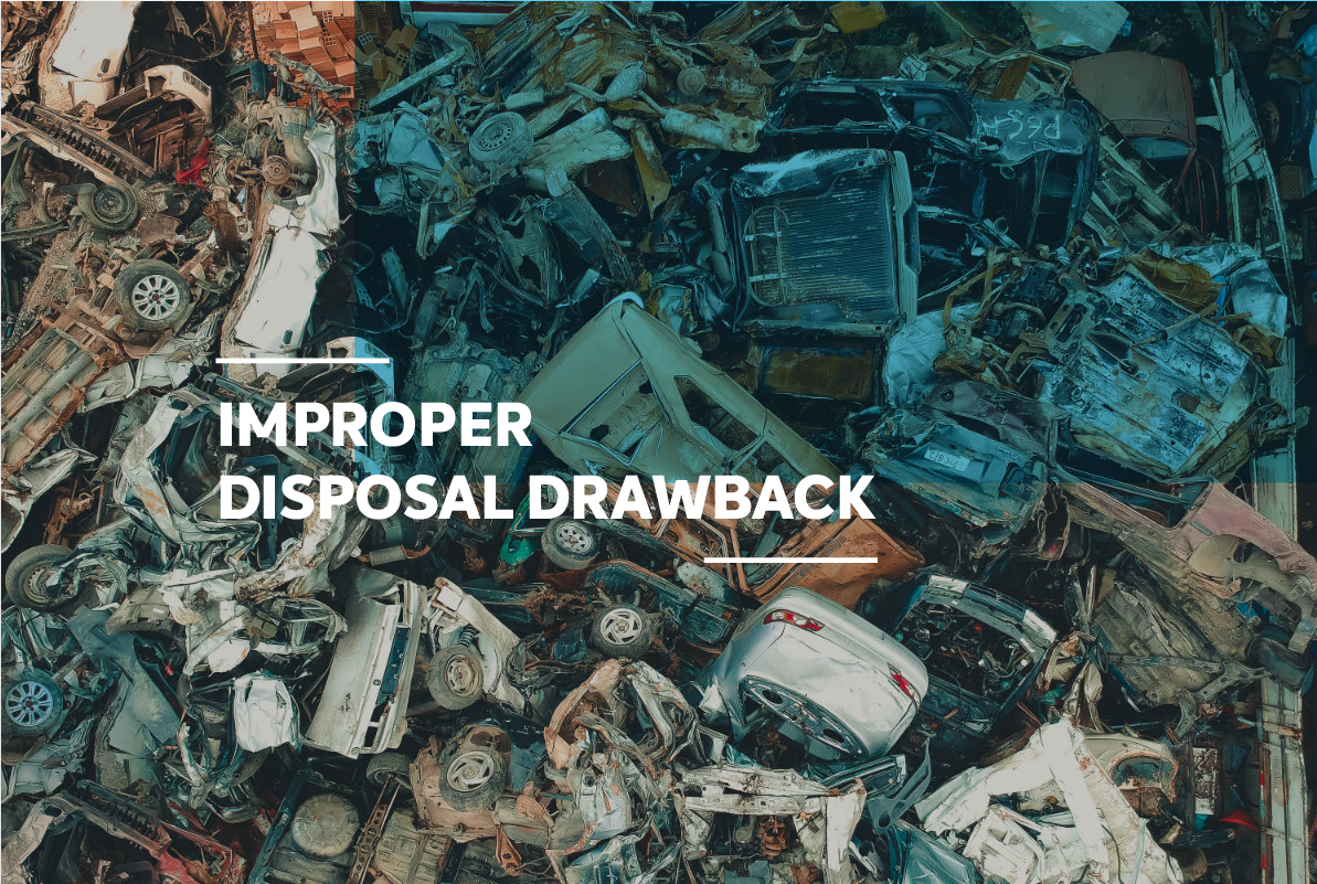 Improper disposal. Credit: Sergio Souza/Unsplash