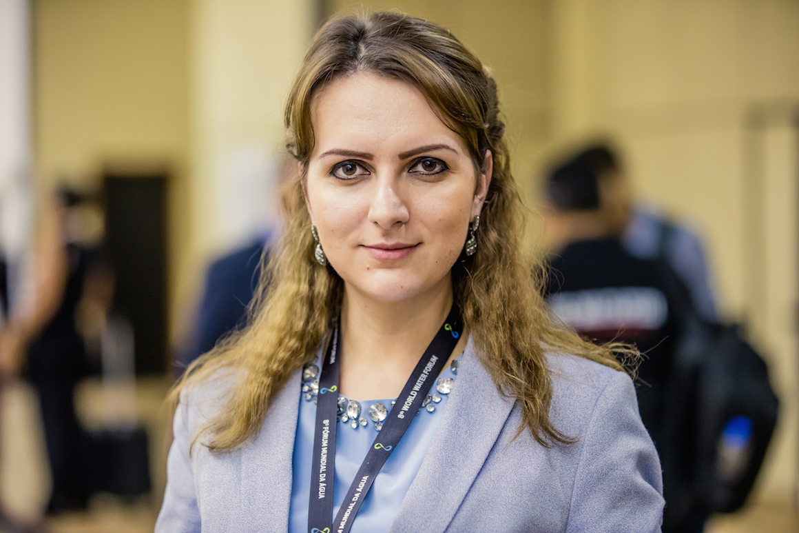 A World Water Forum is made of people: Anastasia Lavrina's fight for peace