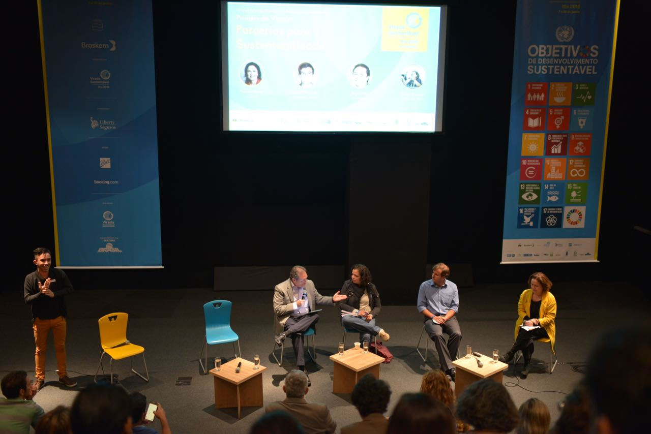 Virada Sustentável Fest: debates on partnerships and sustainability