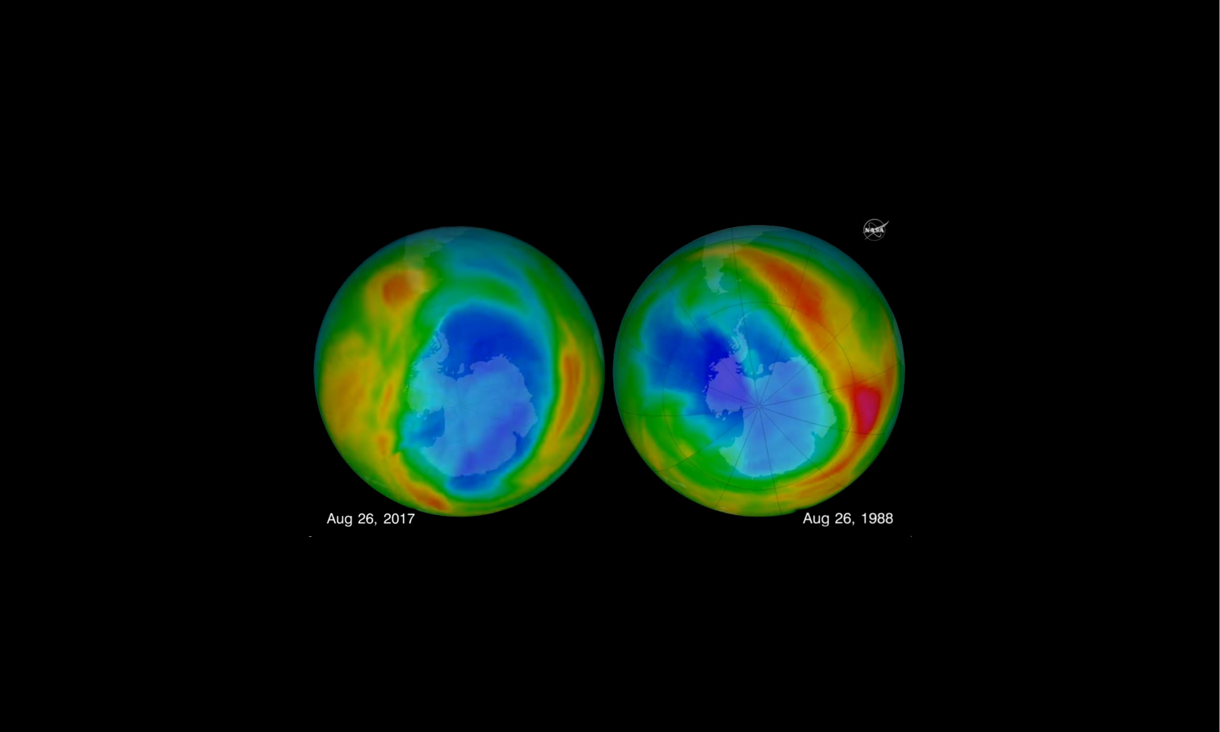 Ozone hole at its smallest in 30 years, says NASA's study