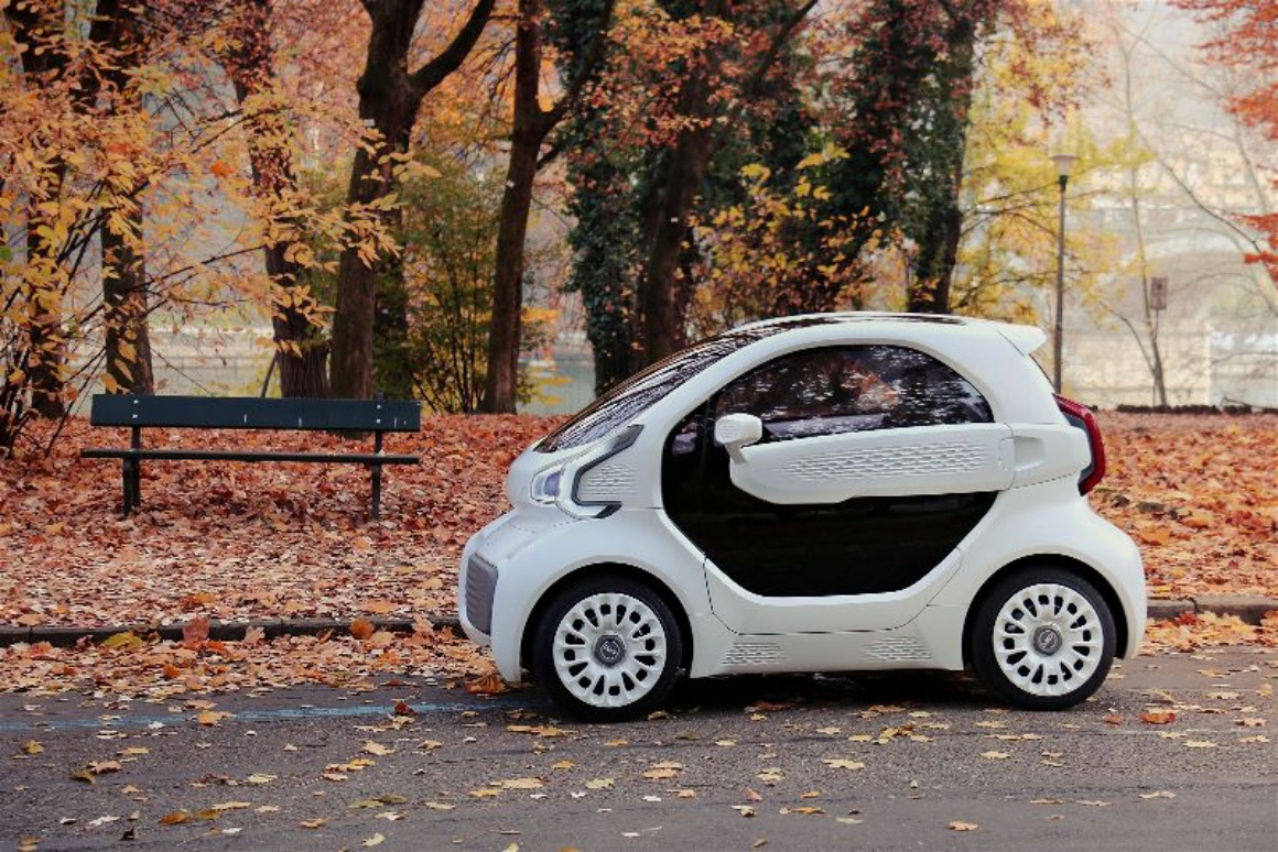LSEV will be the first mass-produced 3D-printed electric car