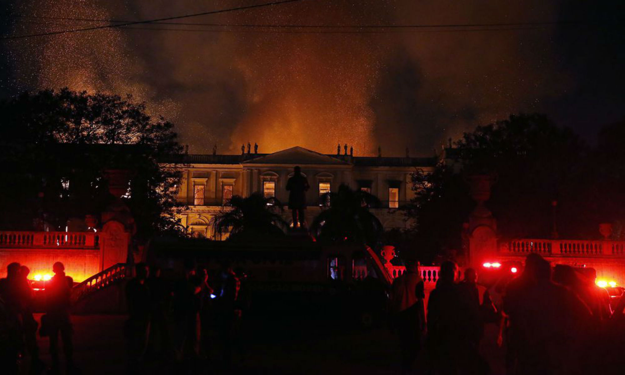 Fire in Brazil's National Museum: 5 collection items lost in the fire