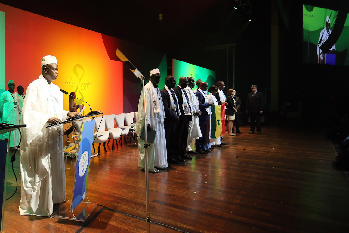The 8th World Water Forum achieves goals and hands the flag over to Senegal