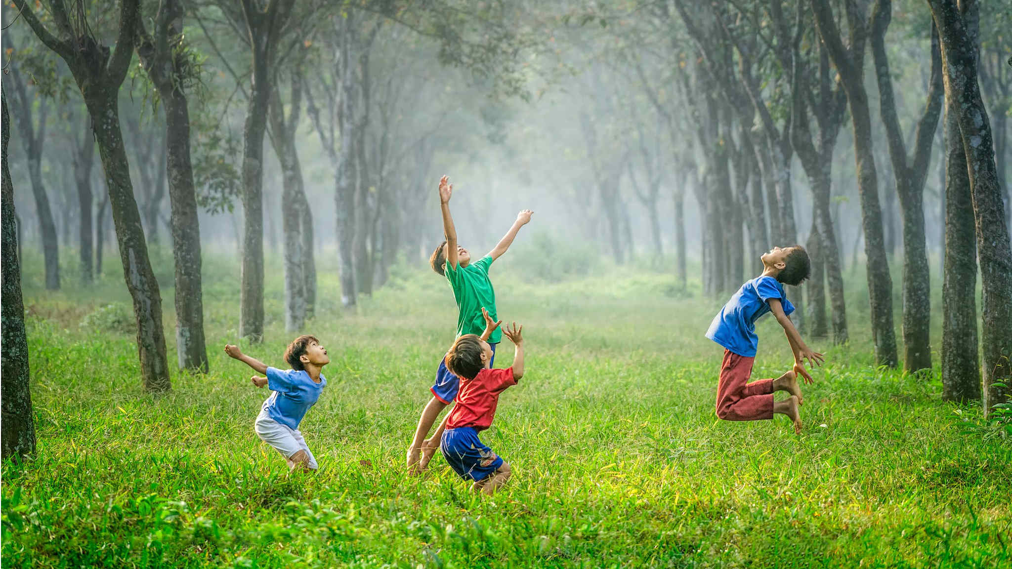 Research: children connected to nature grow up mentally healthier