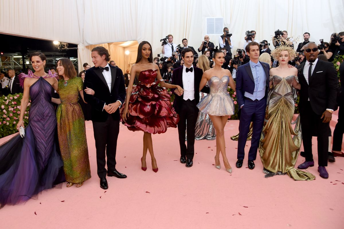 Tapete vermelho Met Gala. Crédito: Getty Images