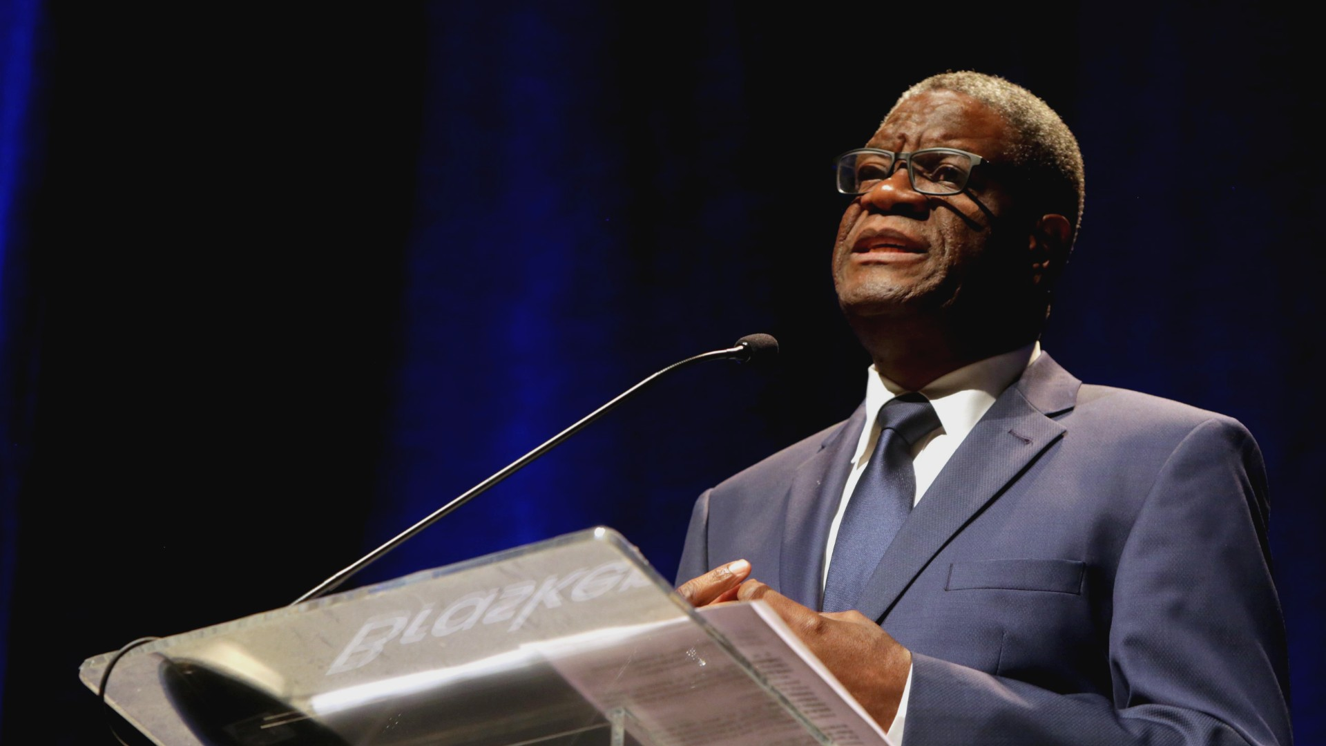 "Fronteiras: ""I save lives, whatever the cost,"" says Mukwege"